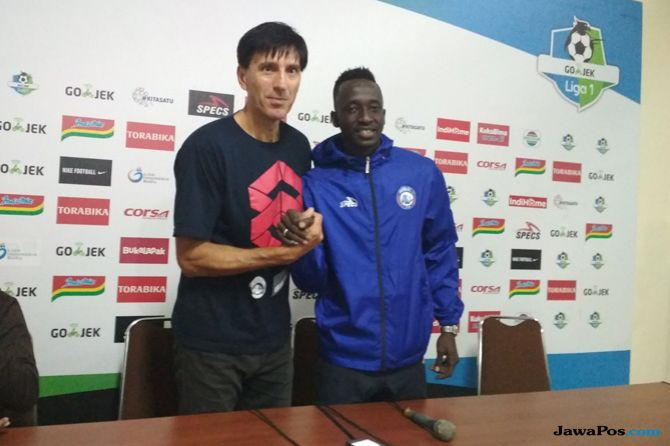 Arema FC, Persija Jakarta, Liga 1 2018, Milan Petrovic, Makan Konate