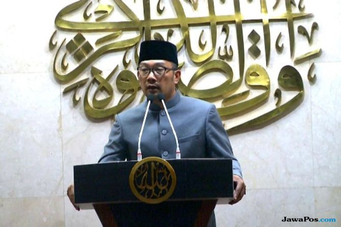 Doakan Korban Gempa dan Tsunami, Ridwan Kamil Ajak Warganya Salat Gaib