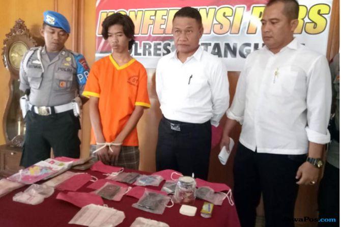 DPO Kasus Narkoba Diringkus, Diamankan Saat Istirahat di Camp
