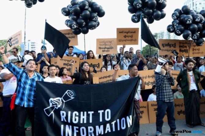 Wartawan Reuters Ditahan, Wartawan Reuters Myanmar