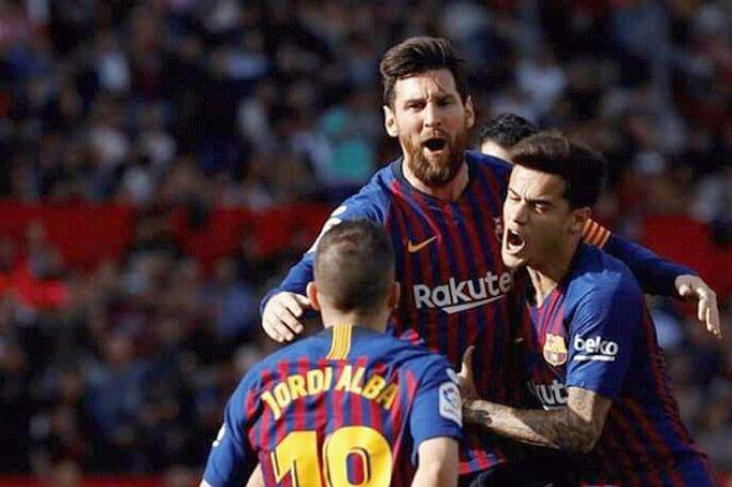 Drama 6 Gol: Barcelona Petik Kemenangan, Messi Bikin Rekor Lagi