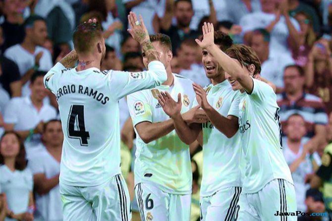 Liga champions 2018-2019, Real Madrid