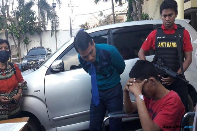 Duh, Sakit Hati, Mobil Majikan Malah Dicuri