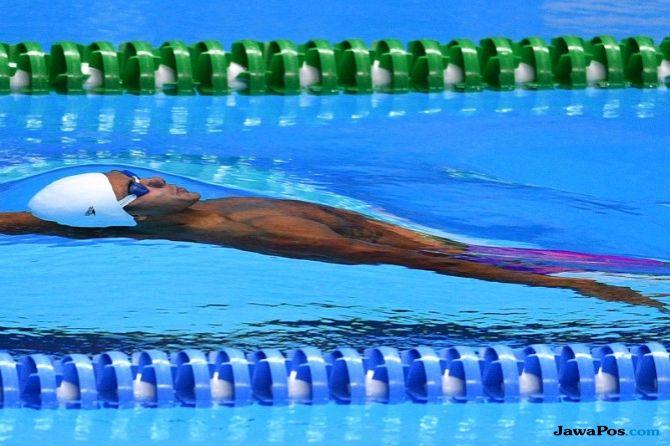 I Gede Siman Sudartawa, Jakarta Open Swimming Championship 2018, renang, Indonesia