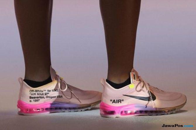 sepatu tenis, sepatu nike, sepatu olahraga, virgil abloh, sepatu nike virgil abloh,