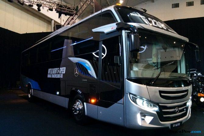 Dukung Transportasi Indonesia, Mercedes Luncurkan 2 Bus Baru