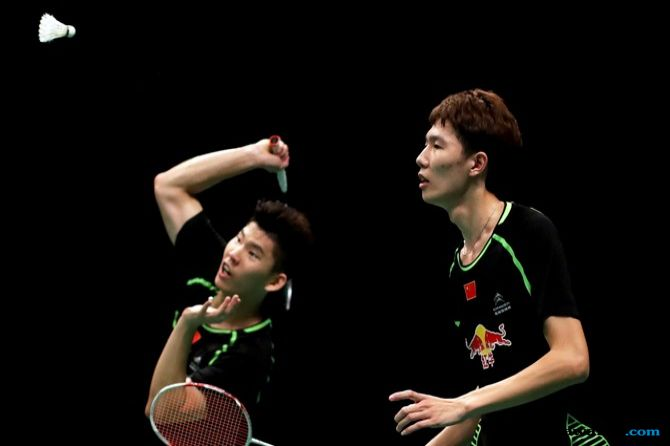 World Tour Finals 2018, Tiongkok, Li Junhui/Liu Yuchen, bulu tangkis, BWF