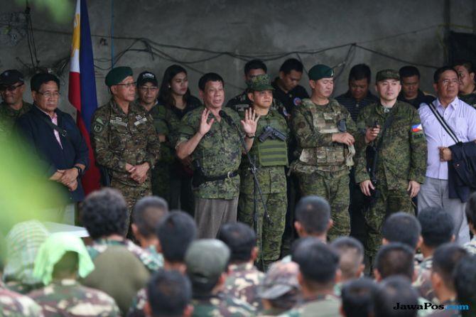 Duterte Dapat Dukungan dari Kongres untuk Perpanjang Darurat Militer