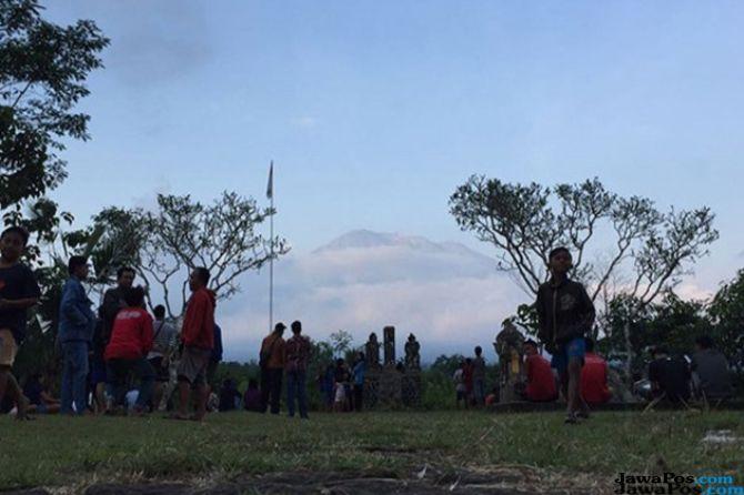 Edukasi Masyarakat, Jonan Turunkan Tim Sosialisasi Erupsi Gunung Agung