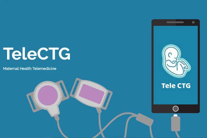 TeleCTG, aplikasi sehati TeleCTG, TeleCTG bidan kupang