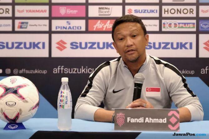 Piala AFF 2018, Fandi Ahmad, Singapura, Filipina, Sven Goran Eriksson