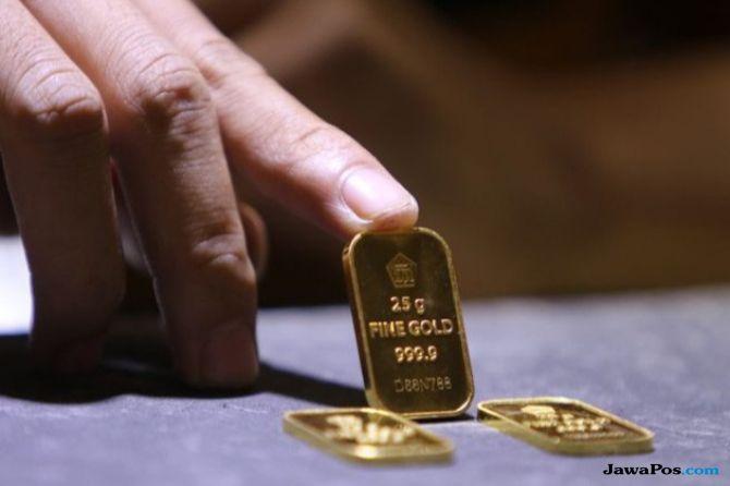 Emas Antam Ikut Naik Rp 5.000 per gram Ikuti Kenaikan di Pasar Spot