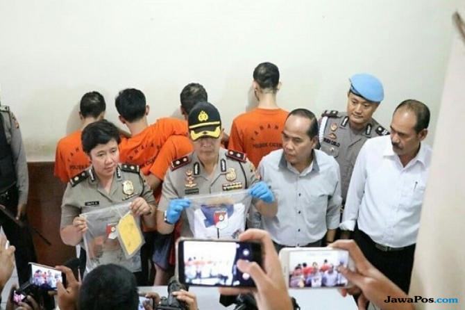 Empat Anggota Geng Motor Bandung Tersangka Kasus Penganiayaan