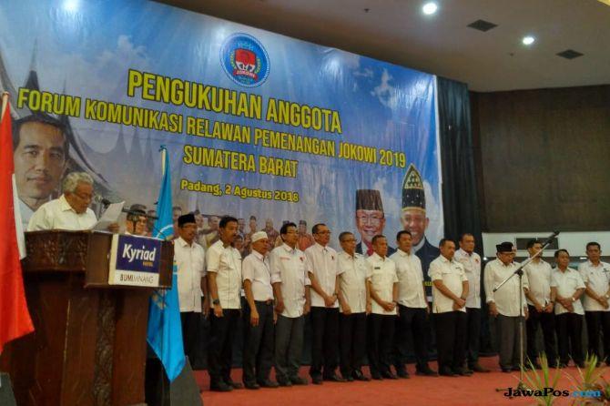 Empat Rektor dan Ulama Sumbar Jadi Tim Sukses Jokowi 2019