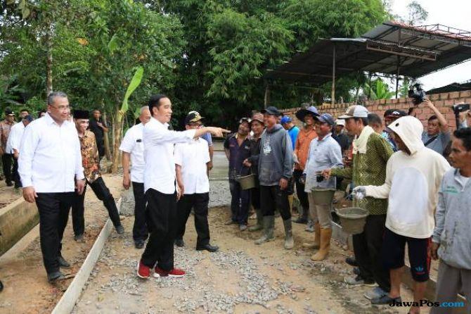 Empat Tahun Kerja Jokowi-JK, Desa Makin Makmur