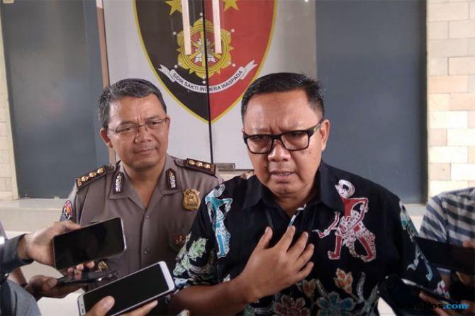 Direktur Ditreskrimum Polda DIJ, Kombes Pol Hadi Utomo di Mapolda DIJ, Jumat (11/1)