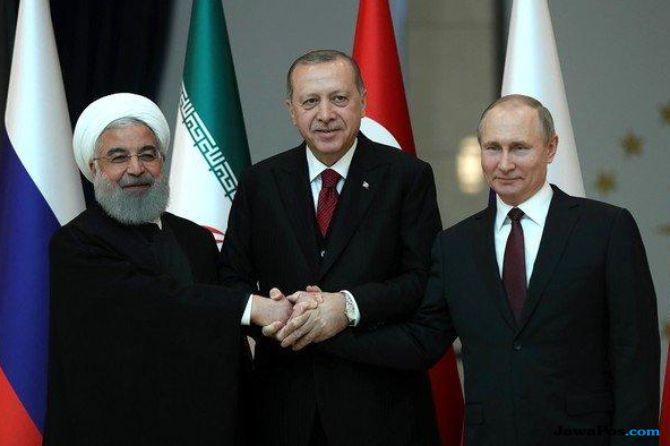 Erdogan Siap Temui Rouhani dan Putin Demi Perdamaian Syria