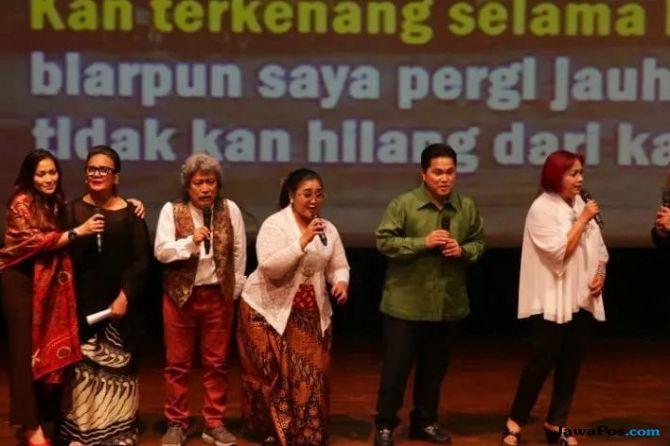 Pentas Seni Jokowi Ma'ruf Amin