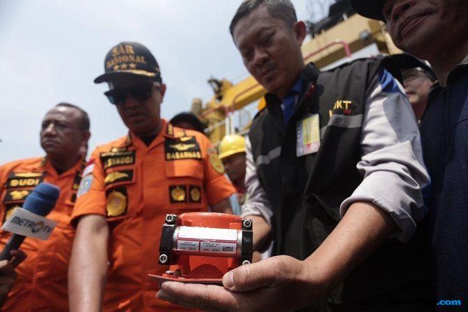 Evakuasi Lion Air Ditutup, Pencarian CVR Black Box Tetap Dilanjutkan