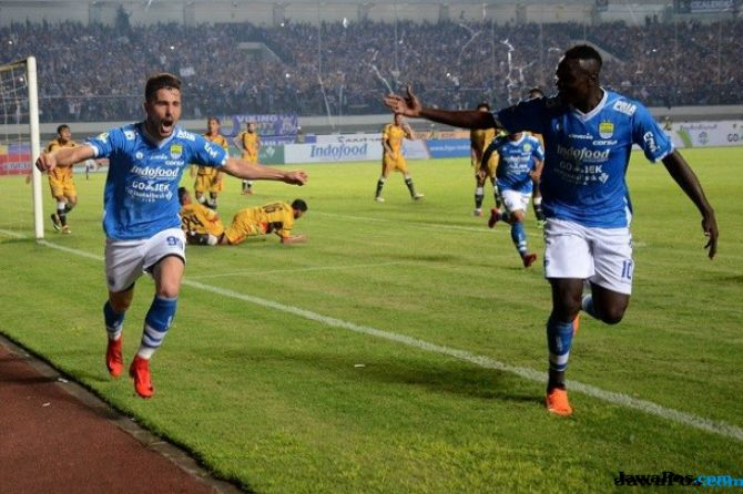 Persija Jakarta, PSSI, Haringga Sirla, Jakmania Meninggal di GBLA, Ezechiel N'Douassel, Jonathan Bauman, Persib Bandung,