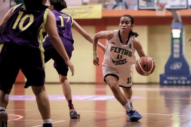 Srikandi Cup 2018/2019, basket, Indonesia, Flying Wheel Makassar