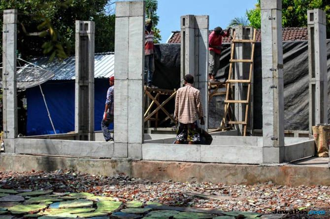 Format Pencairan Dana Perbaikan Rumah di Lombok Cukup Satu