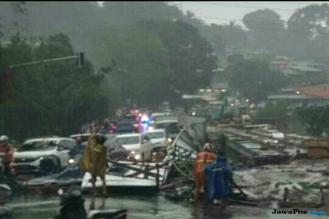 Foto Jembatan Gadog Ambruk Ternyata Hoax