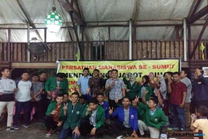 Gabungan Aliansi Mahasiswa Sepakat Dukung DJOSS Dalam Pilgub Sumut