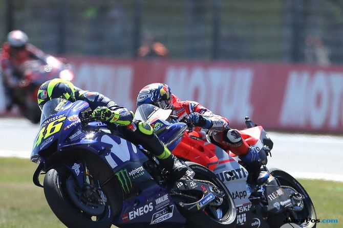 MotoGP, GP Belanda, Rossi, Vinales, Dovizioso, Lorenzo, Marquez, Pedrosa, Zarco, Alex Rins, Iannone