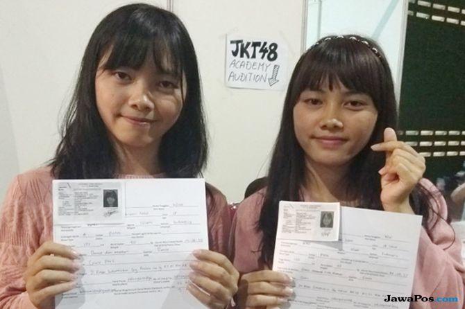 Gagal Jadi Generasi ke-5, Si Kembar Coba Audisi Generasi ke-7 JKT48