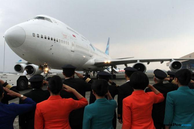 Garuda Indonesia Pastikan Direksi Tetap Kerja Saat Hari Lebaran