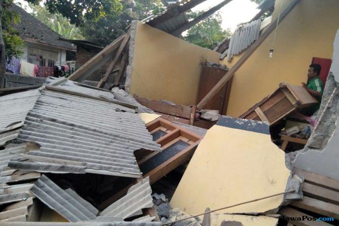 Gempa 7 SR di Lombok, di Carik dan Badas Terdeteksi Tsunami