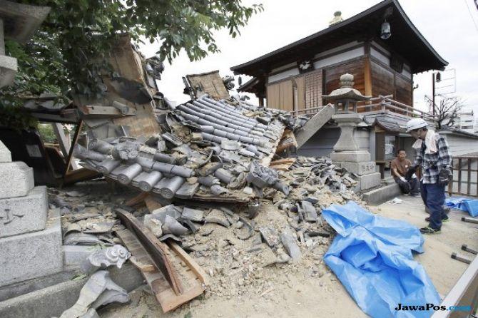 Gempa Berkekuatan 6,1 SR Hantam Jepang
