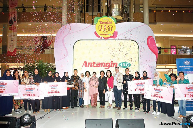 Tangkis Community Competition Bersama Antangin JRG.