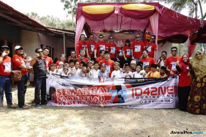 Gerakkan Semarak Nasionalisme, Komunitas Fortuner Jelajahi Banten