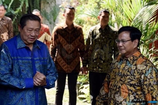 Gerindra-Demokrat Saling Sindir, Ketua TKN:Saya Nggak Mau Komentari