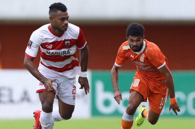 Gol Eks Persib Bandung Bawa Madura United Melaju ke Perempat Final