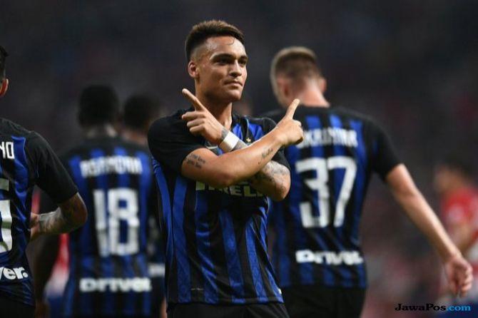 Inter Milan, Atletico Madrid, Lautaro Martinez, ICC 2018, International Champions Cup,