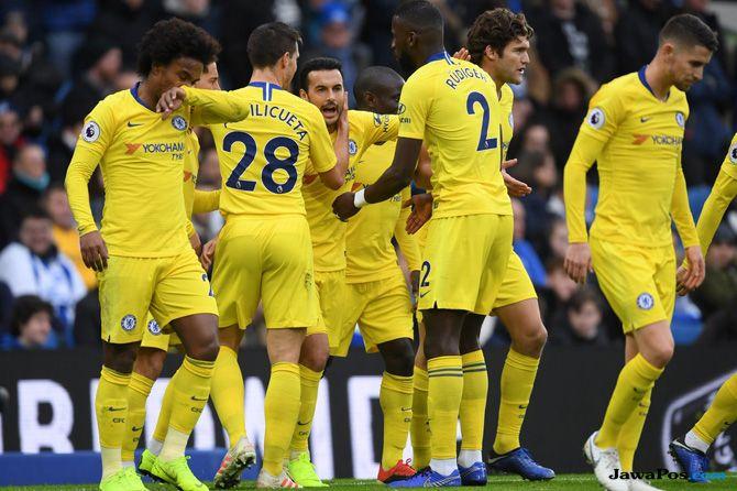 Chelsea, Brighton, Brighton & Hove Albion, Pedro, Eden Hazard, Premier League 2018 2019