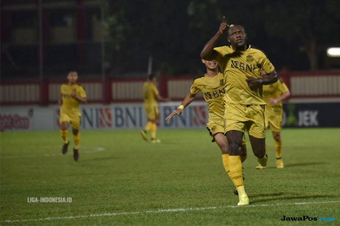 liga 1 2018, bhayangkara fc, persipura jayapura, bhayangkara 2-0 persipura