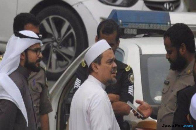 habib rizieq, FPI, arab saudi,