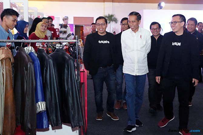 Hadiri HUT Bukalapak, Jokowi Minta 56 Juta UMKM Masuk ke Pasar Online