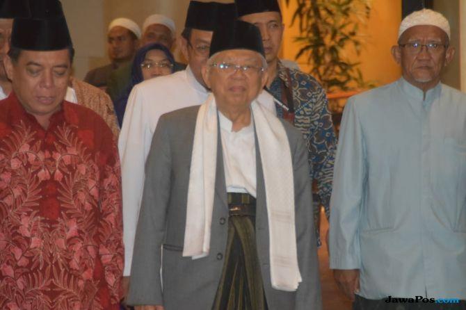 Hadiri Pertemuan dengan Ma'ruf Amin, Ketua PWNU Jatim: Saya Ikut Kiai