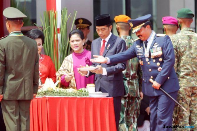 Hari Jadi ke-73, TNI Banjir Pujian dari Jokowi
