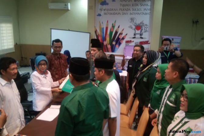 Hari Terakhir Pendaftaran, KPU Sulsel 'Diserbu' Pengurus Parpol