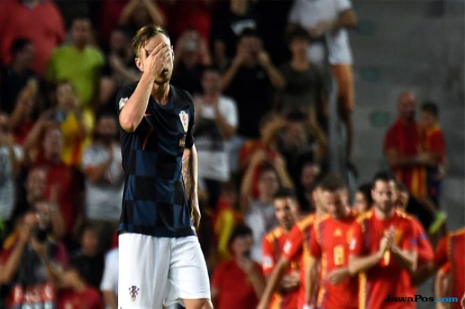 UEFA Nations League, Spanyol, Kroasia, Spanyol 6-0 Kroasia