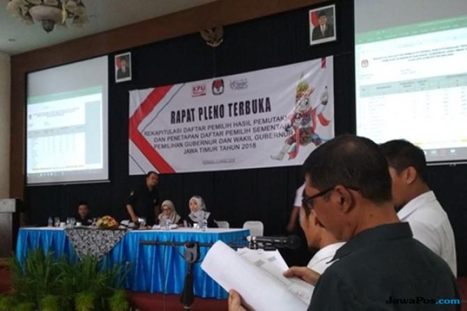 Hasil Rekapitulasi KPU, Calon Pemilih di Malang Hampir 2 Juta Orang