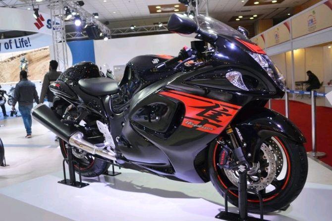 Hayabusa, Motor Terkencang Suzuki Siap Unjuk Gigi