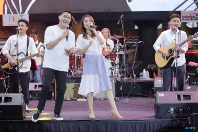 HIVI! Bawakan Lagu Baru di Synchronize Festival 2018