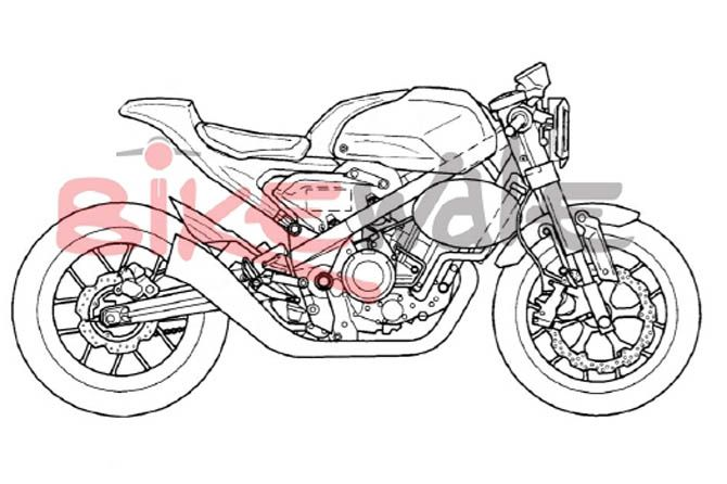 Honda Siapkan CB300 TT Cafe Racer, Ini Bocorannya